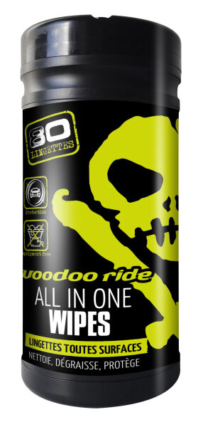 voodoo ride ALL IN ONE WIPES Ultra Cleaning Wipes