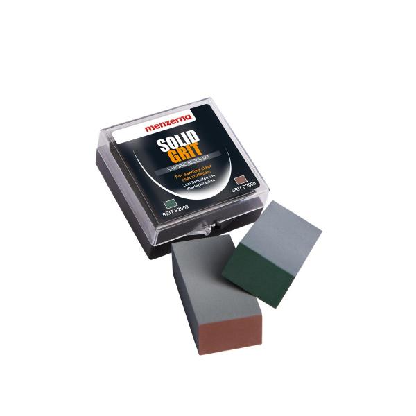 Menzerna Solid Grit Schleifstein 2000 / 3000 - je 1 Stück