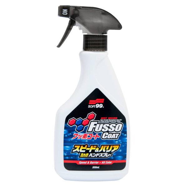 Soft99 Fusso Coat Speed & Barrier Hand Spray, 400ml
