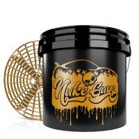 Nuke Guys Golden Bucket Set - GritGuard Wascheimer 3,5...