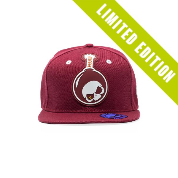 Snapback Straight Cap - Cherry Bomb