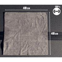Nuke Guys -  Asphaltliebe 5er Pack Allzweck Mikrofasertuch, grau, 40x40cm, 380 GSM