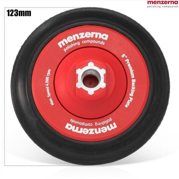 Menzerna Premium Stützteller 123mm, gedämpft,  für 150 mm Pads M14