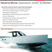 Menzerna Gelcoat Premium Gloss - Hochglanz Bootpolitur - 250 ml