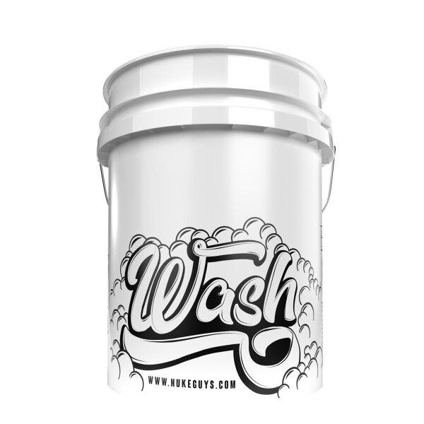 Nuke Guys Wash Bucket - weiß 5 GAL Wascheimer für Shampoo