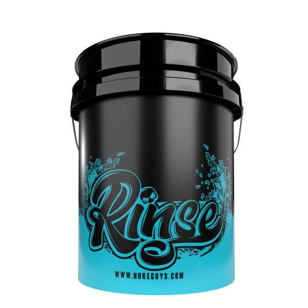 Nuke Guys Rinse Bucket - 5 GAL schwarz Wascheimer zum Ausspülen / für klares Wasser