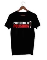 Menzerna T-Shirt, schwarz, Druck MZ
