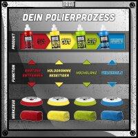 Garage Freaks Polierpads - made by menzerna - 150mm Polierfläche - 125mm Klettfäche