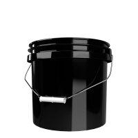 GritGuard Wascheimer 3,5 GAL (13 l) ohne Aufdruck schwarz