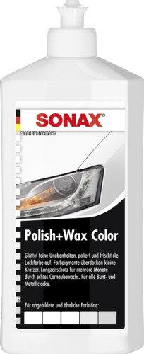 SONAX Polish+Wax Color weiß 500ml